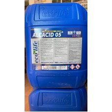Concentrate with basic PH for degreasing the milking parlor