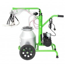 Milking machine goats/sheep GREEN LINE 130 ALUMINIUM PS
