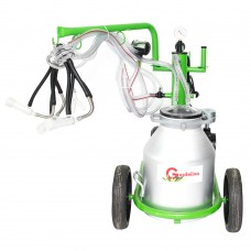 Milking machine goats/sheep GREEN LINE T130 ALUMINUM PS