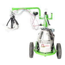 Milking machine goats/sheep GREEN LINE T130 STAINLESS STEEL PS