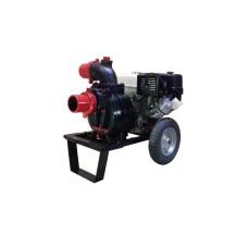Motopompa pentru ape murdare benzina  cu motor Kama DWP 390 H4X