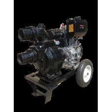 Self-priming motor pump DWP 12 DL K4X (SPLIT) Wastewater
