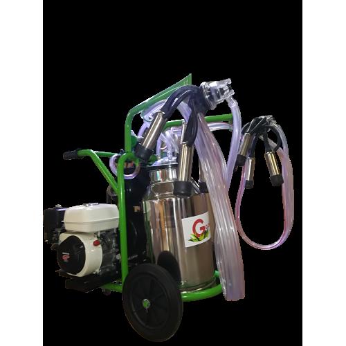 Aparat de muls vaci T 240 IN IC cu motor termic Honda