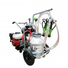 Gardelina T 130 AL PC milking machine with gas engine