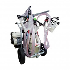 Sheep / goat milking machine T 230 IN PS with Honda heat engine