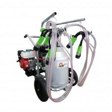 Cow milking machine T 240 AL PC with heat engine