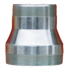 """Reduction nipple with external thread 3 """"x2 1/2"""