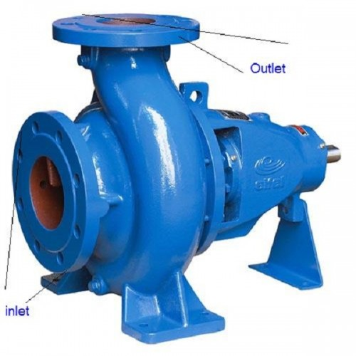 Pompa industriala centrifuga din fonta , monoetajata Gardelina EA 50/20